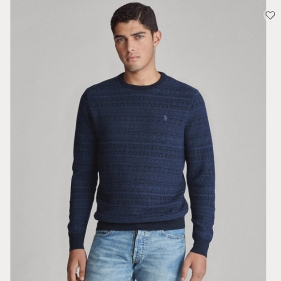 Polo by Ralph Lauren Other - POLO RALPH LAUREN - Fair Isle Merino Wool Sweater